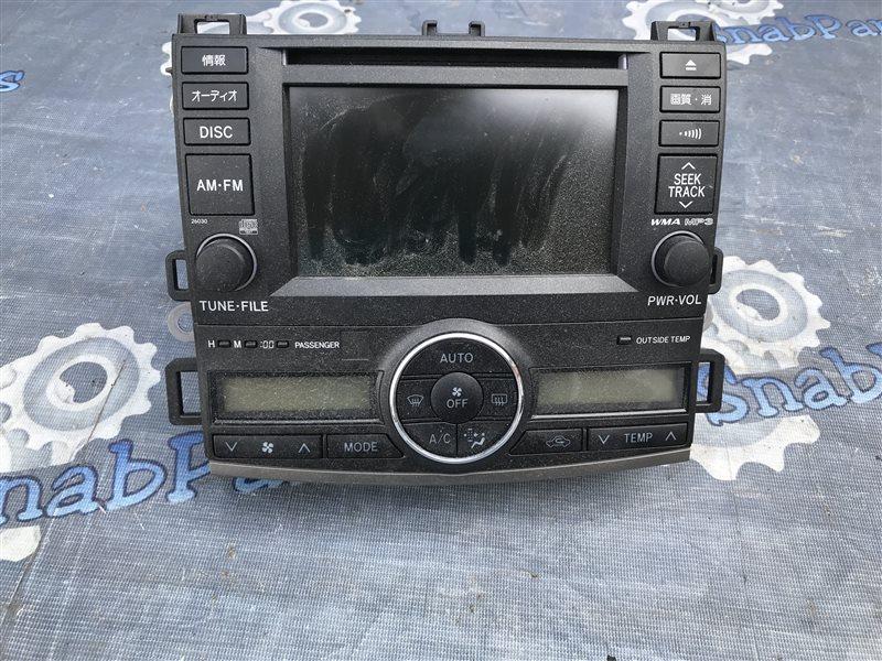 Магнитофон Toyota Allion ZRT265 2ZR-FE 2008
