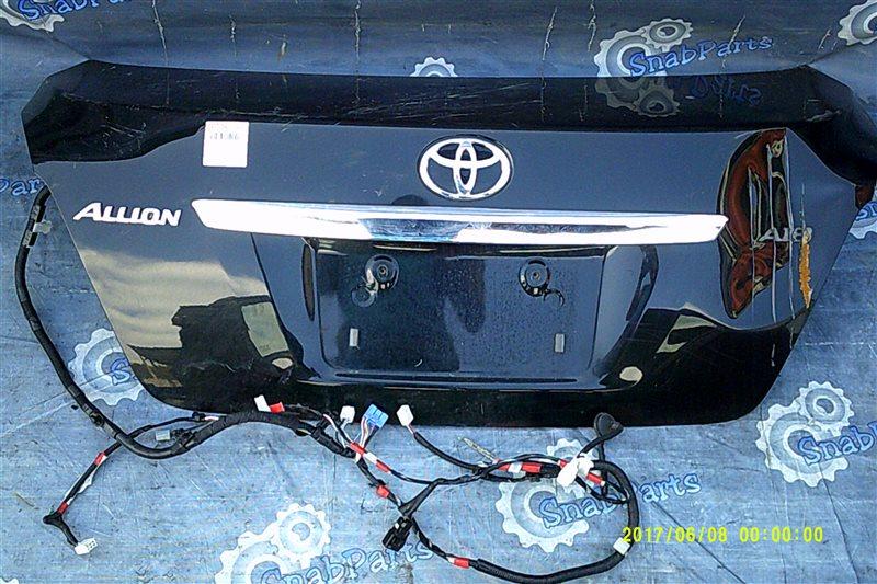 Крышка багажника Toyota Allion ZRT265 2ZR-FE 2008