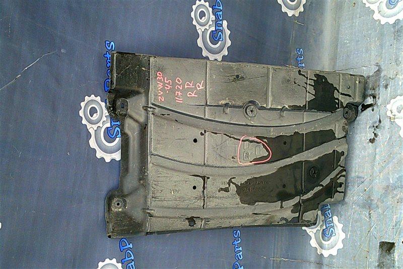 Защита двс Toyota Prius ZVW30 2ZR-FXE 2010 задняя