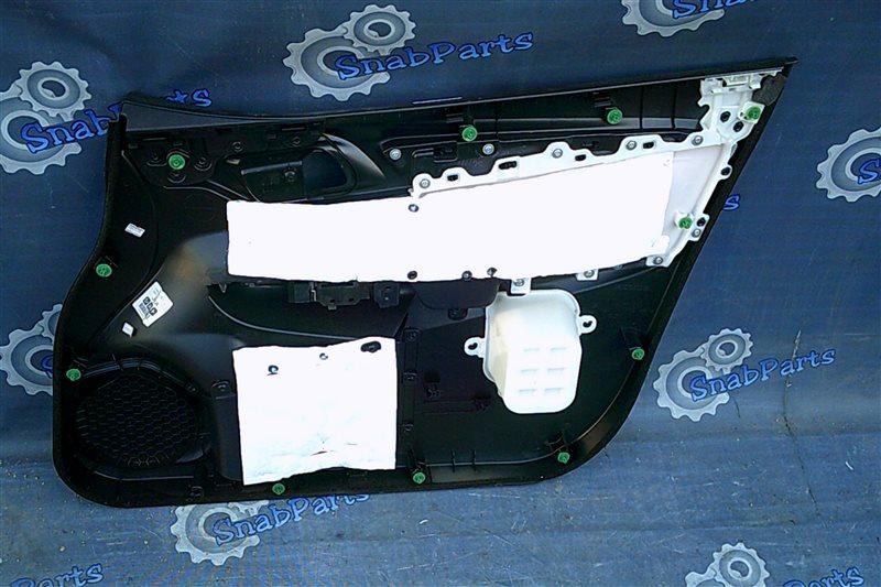 Обшивка дверей Honda Fit GP5 LEB 2014 передняя левая