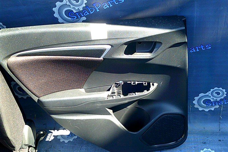 Обшивка дверей Honda Fit GP5 LEB 2014 задняя левая
