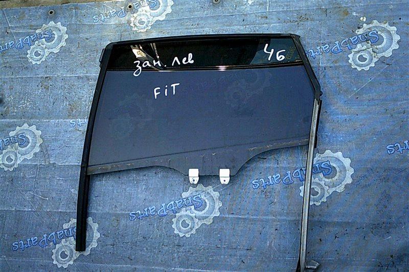 Стекло двери Honda Fit GP5 LEB 2014 заднее левое