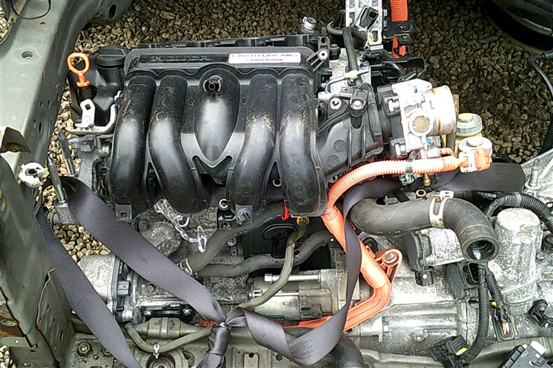 Двс Honda Fit GP5 LEB 2014