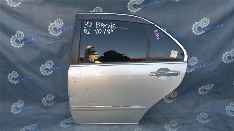 Дверь Toyota Brevis JCG11 2JZ-FSE 2006 задняя левая