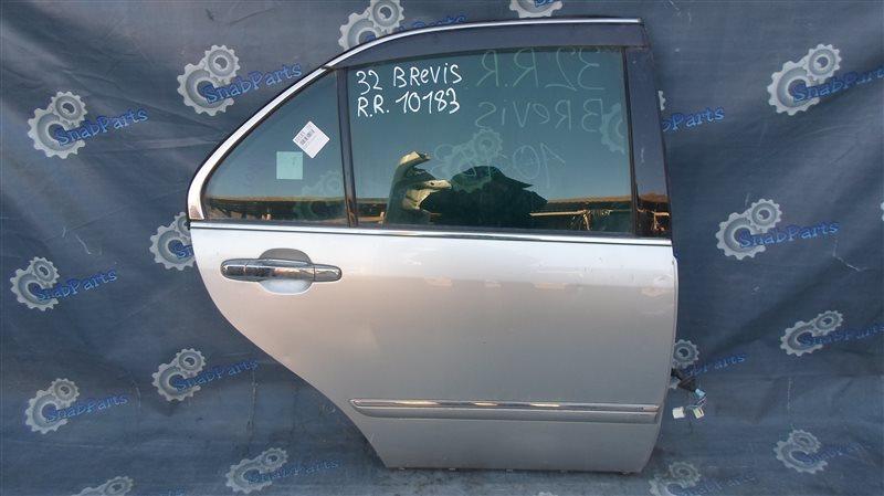 Дверь Toyota Brevis JCG11 2JZ-FSE 2006 задняя правая