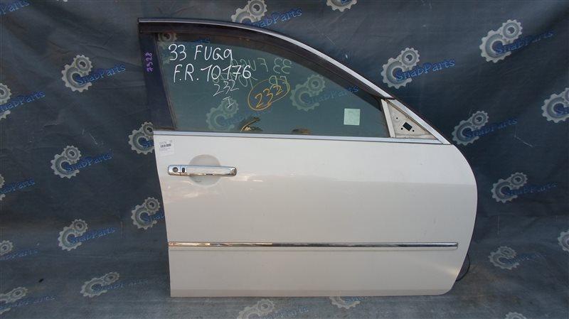 Дверь Nissan Fuga PNY50 VQ35HR 2009 передняя правая