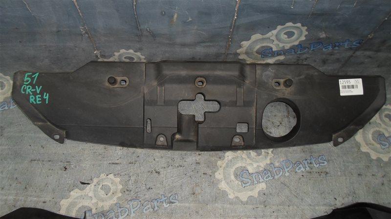 Накладка на телевизор Honda Cr-V RE4 K24 2008