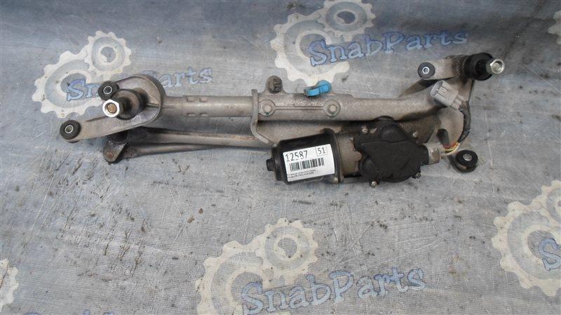 Механизм дворников Honda Cr-V RE4 K24 2008 передний