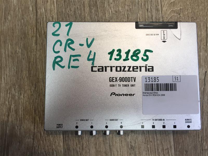 Электронный блок Honda Cr-V RE4 K24 2008
