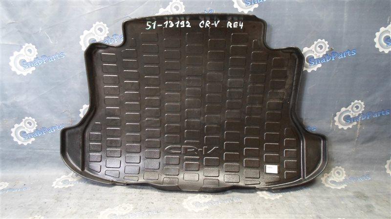 Коврик багажника Honda Cr-V RE4 K24 2008