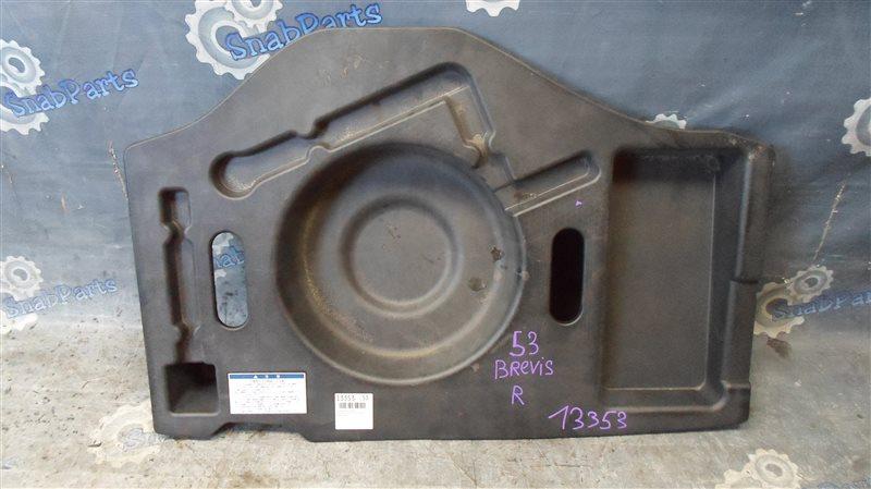 Пол багажника пластик Toyota Brevis JCG10 1JZ-FSE 2006