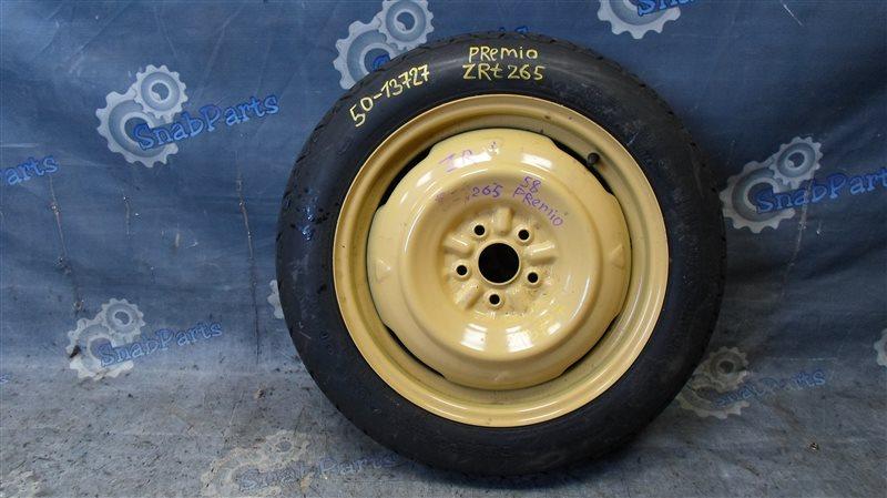 Колесо запасное Toyota Premio ZRT265 2ZR-FE 2008