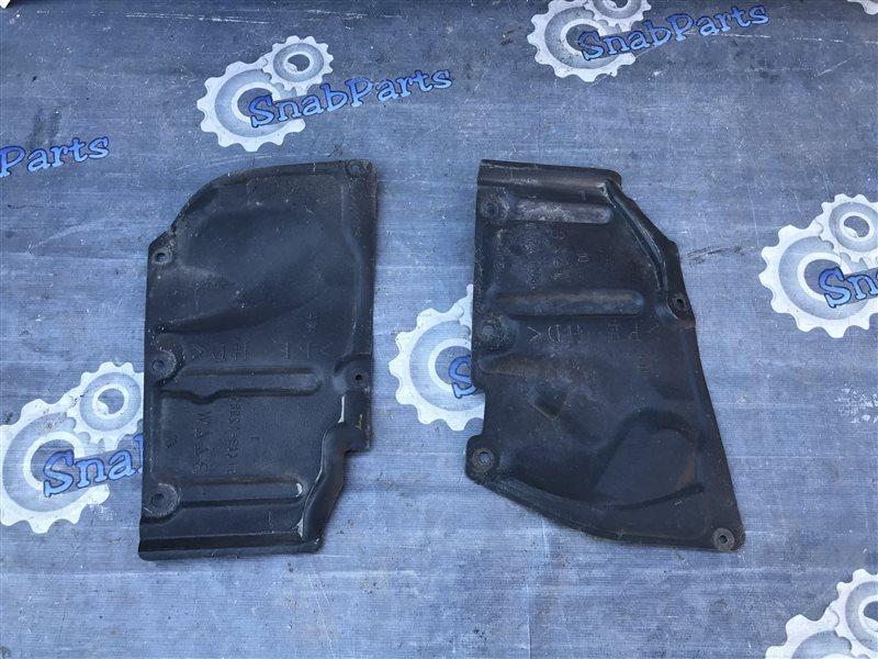 Защита двс Toyota Prius ZVW30 2ZR-FXE 2010 правая