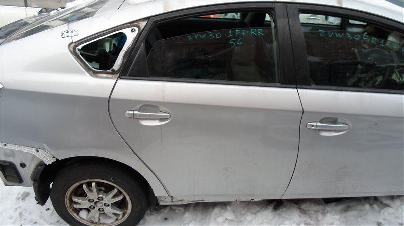 Дверь Toyota Prius ZVW30 2ZR-FXE 2010 задняя правая