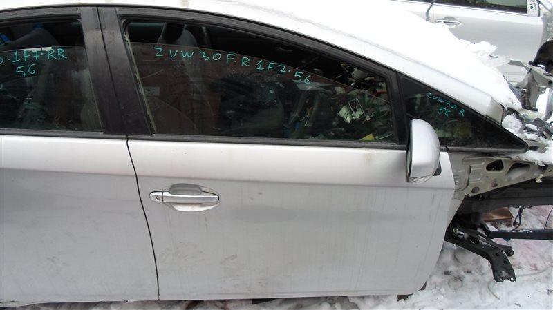 Дверь Toyota Prius ZVW30 2ZR-FXE 2010 передняя правая