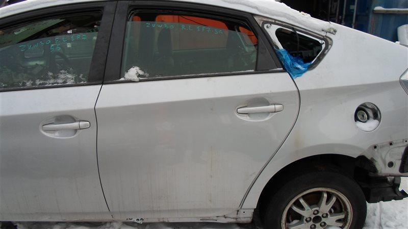 Дверь Toyota Prius ZVW30 2ZR-FXE 2010 задняя левая