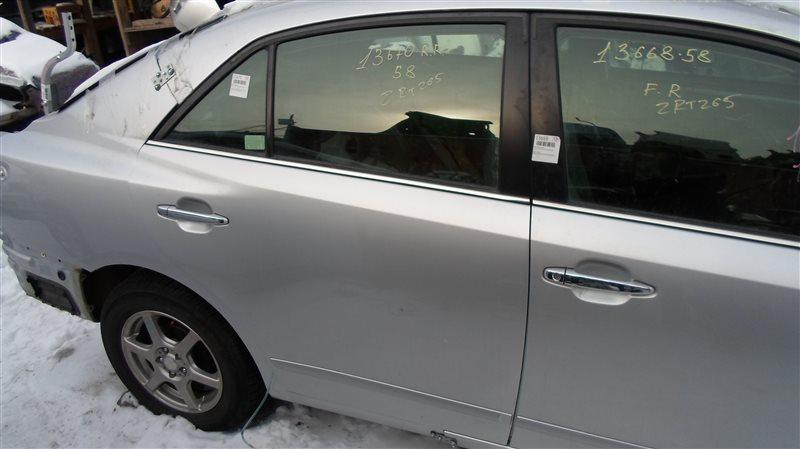 Дверь Toyota Premio ZRT265 2ZR-FE 2008 задняя правая