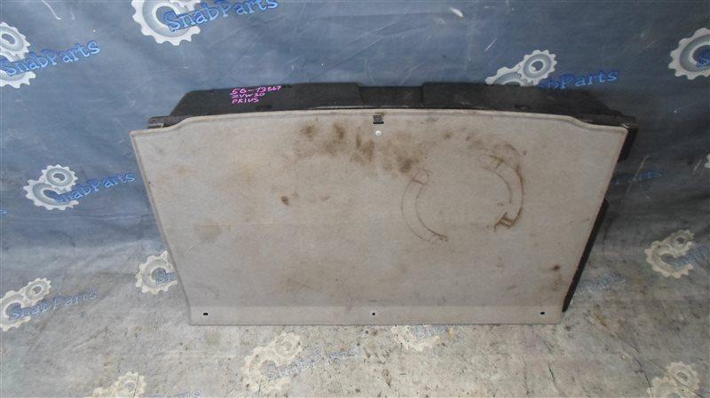 Пол багажника пластик Toyota Prius ZVW30 2ZR-FXE 2010