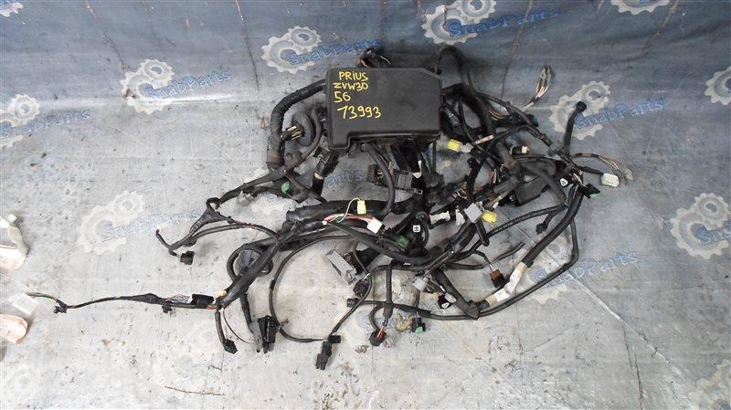 Коса под капот Toyota Prius ZVW30 2ZR-FXE 2010