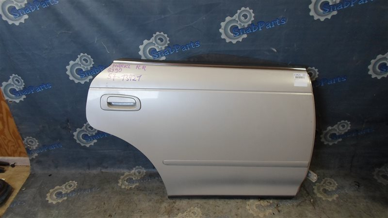 Дверь Toyota Mark 2 GX90 1G-FE 1995 задняя правая