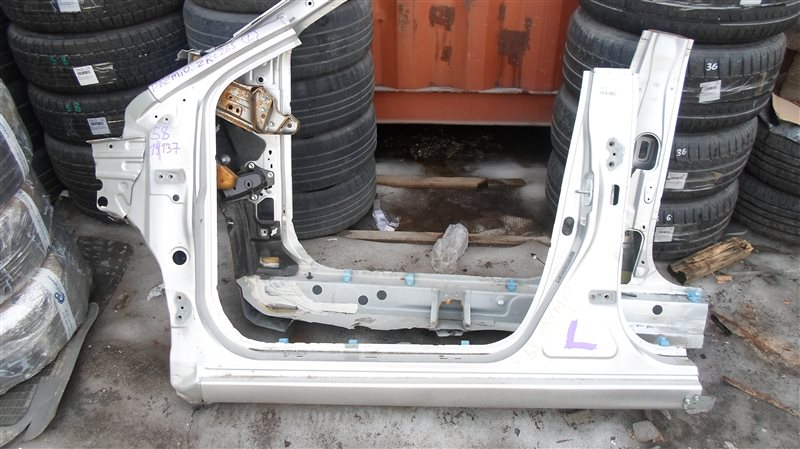 Порог кузова Toyota Premio ZRT265 2ZR-FE 2008 левый