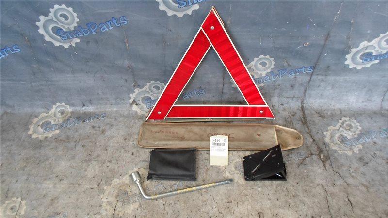 Знак аварийной остановки Toyota Mark 2 GX90 1G-FE 1995