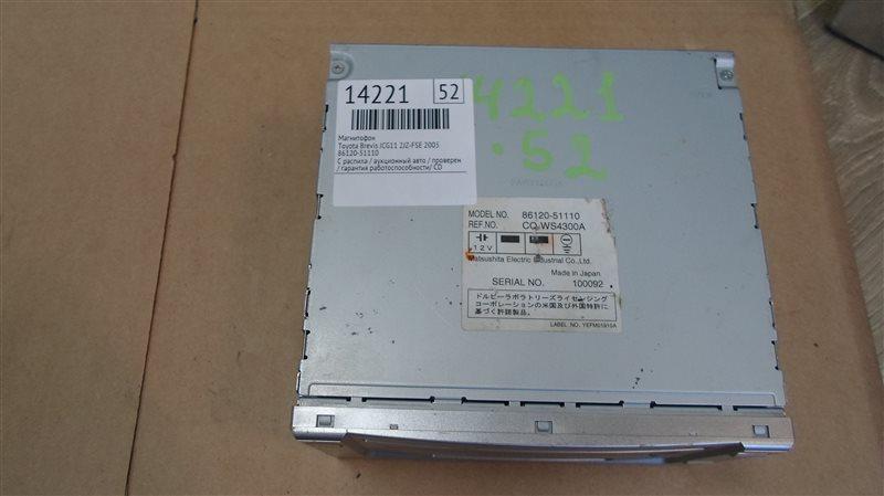 Магнитофон Toyota Brevis JCG11 2JZ-FSE 2005