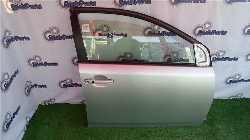 Дверь Toyota Allion ZRT265 2ZR-FAE 2013 передняя правая