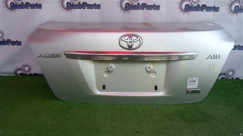 Крышка багажника Toyota Allion ZRT265 2ZR-FAE 2013