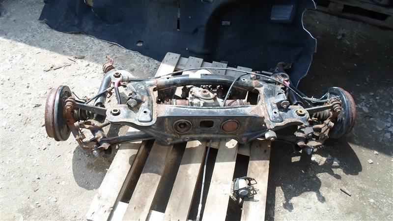 Балка подвески Toyota Allion ZRT265 2ZR-FAE 2013 задняя