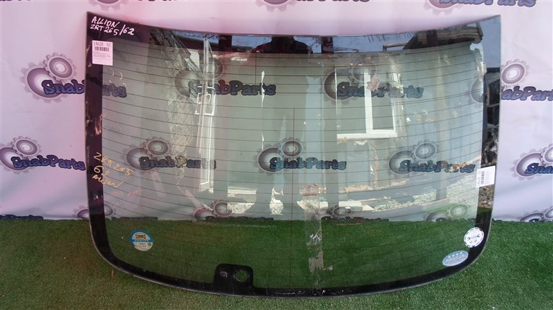 Стекло заднее Toyota Allion ZRT265 2ZR-FAE 2013
