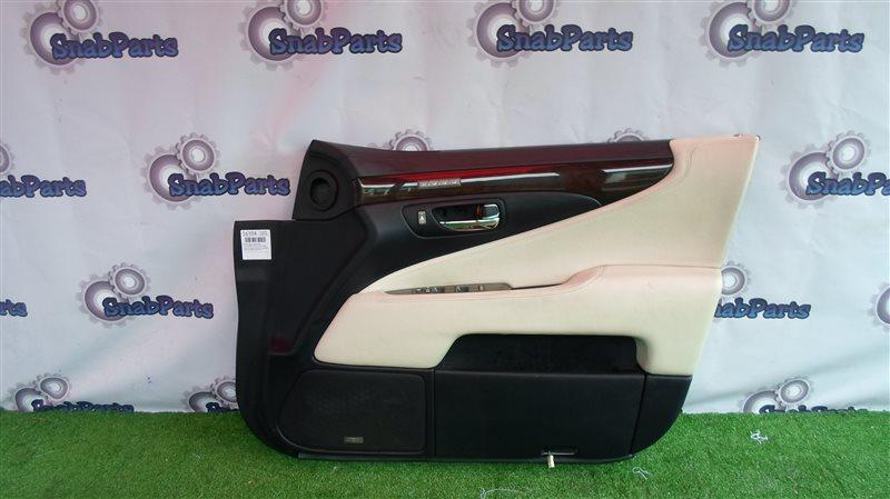 Обшивка дверей Lexus Ls600Hl UVF46 2UR-FSE 2008 передняя правая