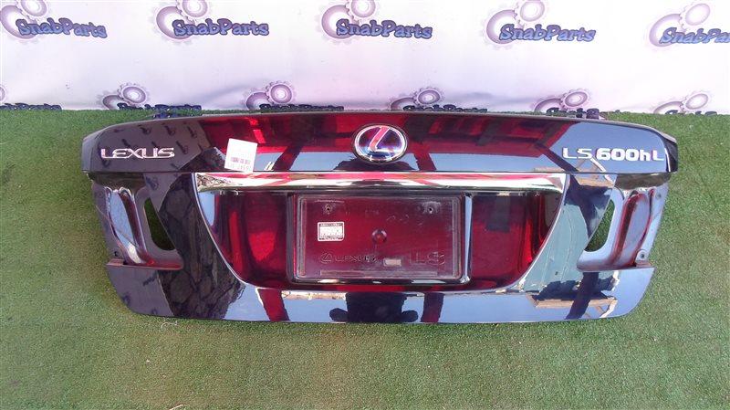Крышка багажника Lexus Ls600Hl UVF46 2UR-FSE 2008