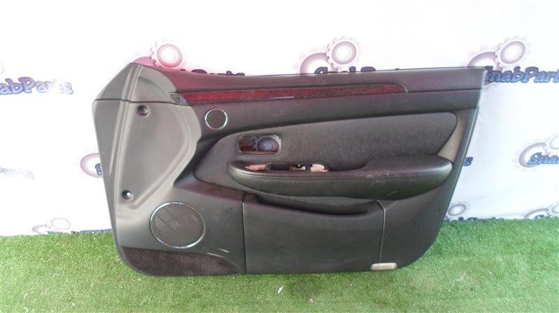 Обшивка дверей Toyota Brevis JCG10 1JZ-FSE 2004 передняя правая