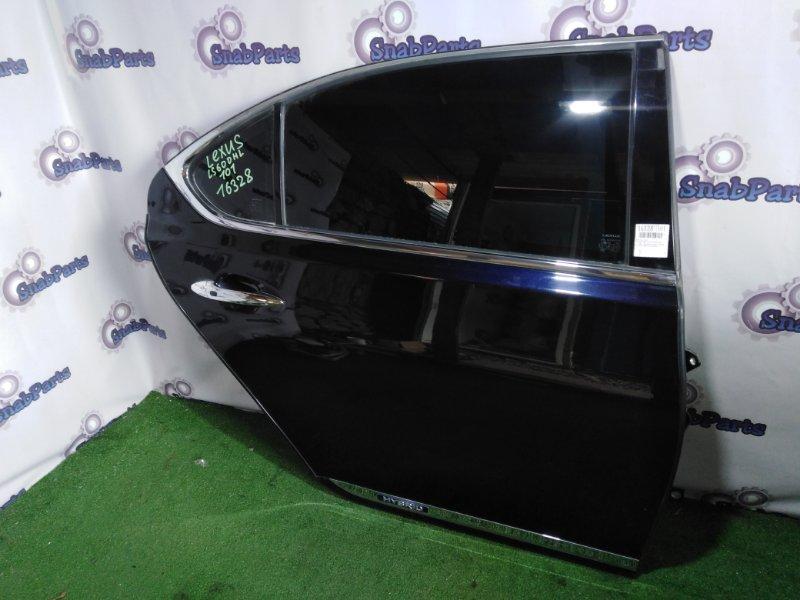 Дверь Lexus Ls600Hl UVF46 2UR-FSE 2008 задняя правая