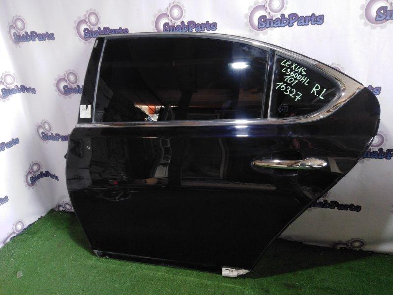 Дверь Lexus Ls600Hl UVF46 2UR-FSE 2008 задняя левая
