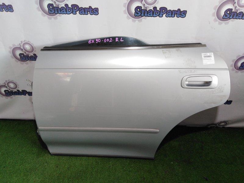 Дверь Toyota Mark 2 GX90 1G-FE 1994 задняя левая