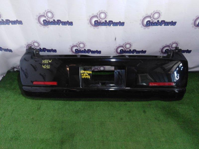 Бампер Mitsubishi Ek-Wagon H81W задний