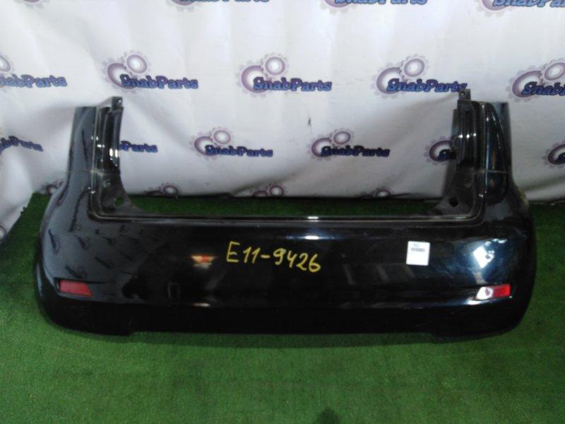 Бампер Nissan Note E11 HR15DE задний