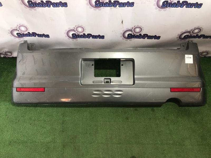 Бампер Mitsubishi Ek Wagon H81W 3G83 задний