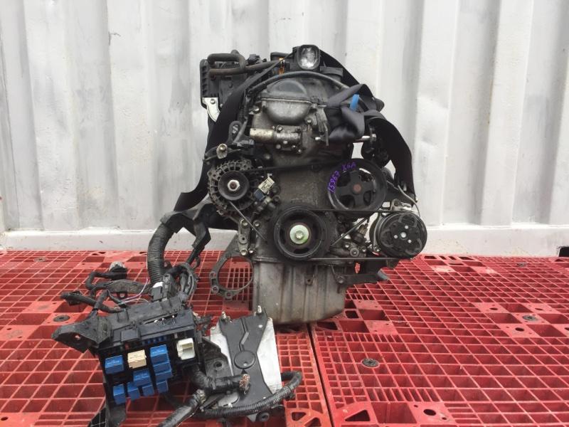 Двигатель Suzuki Wagon R MH23S K6A