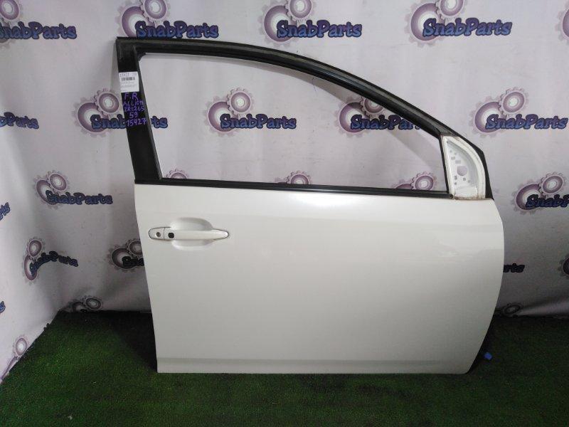 Дверь Toyota Allion ZRT265 2ZR-FE 2008 передняя правая