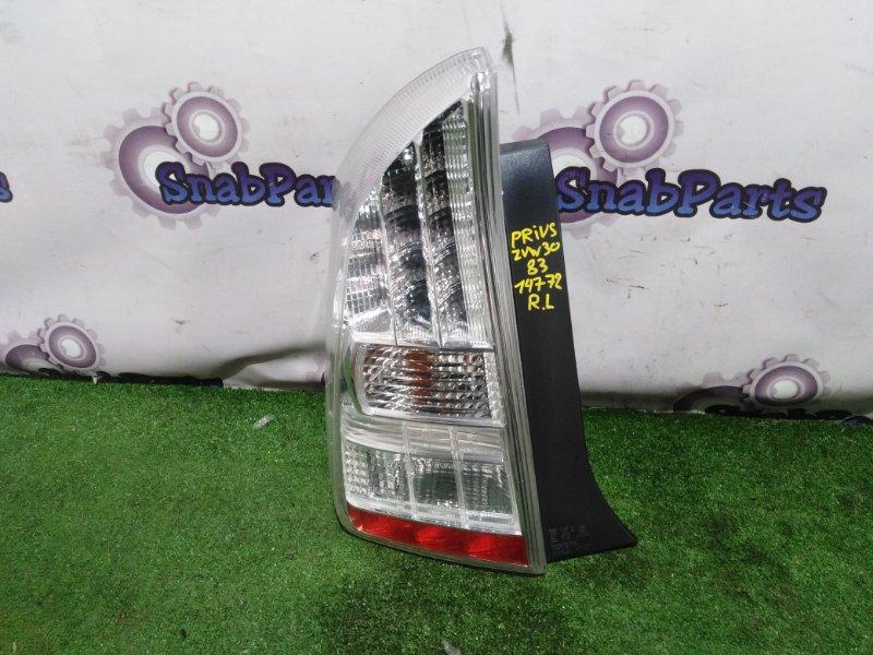 Стоп-сигнал Toyota Prius ZVW30 2ZR-FXE 2009 левый