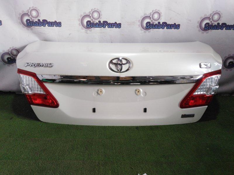 Крышка багажника Toyota Premio ZRT265 2ZR-FAE 2011