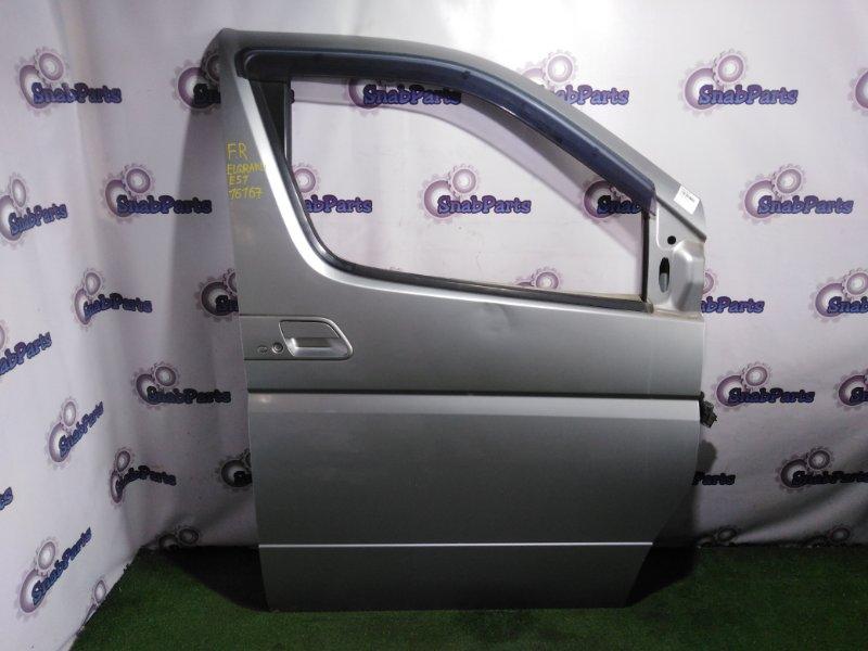 Дверь Nissan Elgrand E51 VQ35DE передняя правая