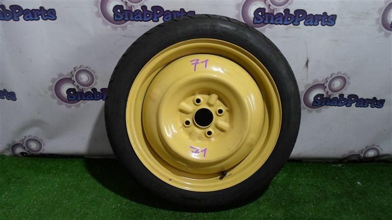 Колесо запасное Toyota Fielder NKE165G 1NZ-FXE 2013