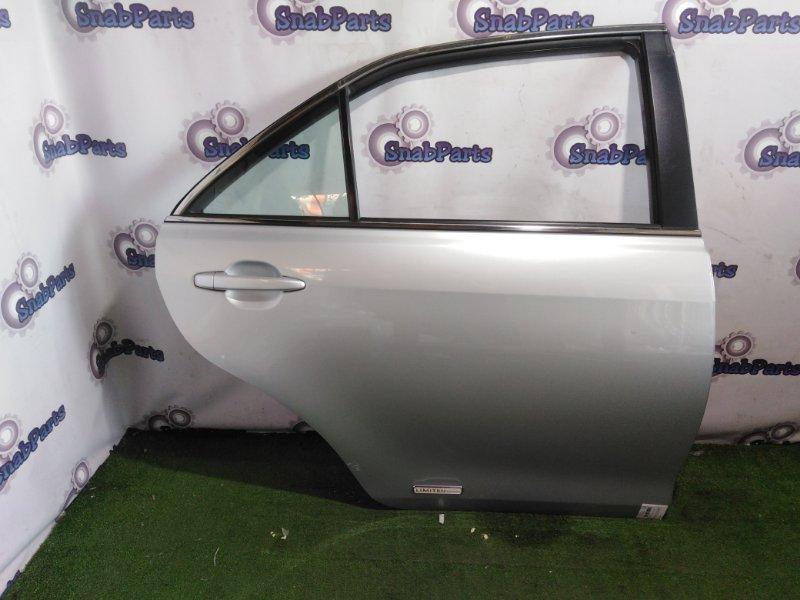 Дверь Toyota Camry ACV40 2AZ-FE 2008 задняя правая