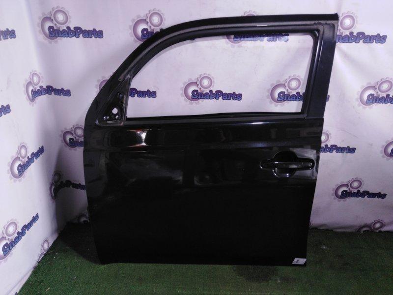 Дверь Toyota Bb QNC20 K3VE передняя левая