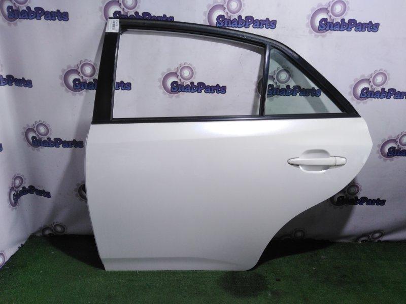 Дверь Toyota Allion ZRT265 2ZR-FE 2008 задняя левая