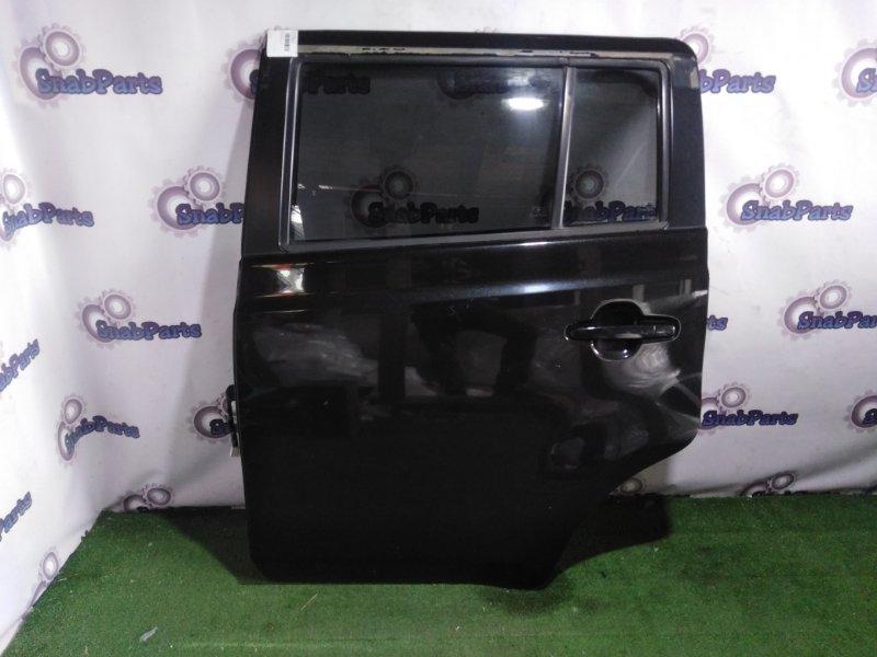 Дверь Toyota Bb QNC20 K3VE задняя левая